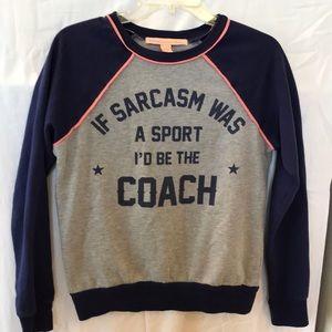 Rebellious One sweatshirt. Size S